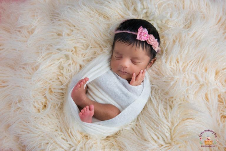 baby in sleeping pose