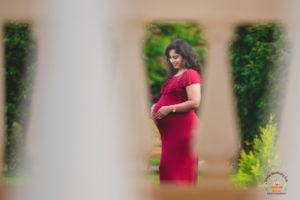 A beautiful twins maternity photoshoot