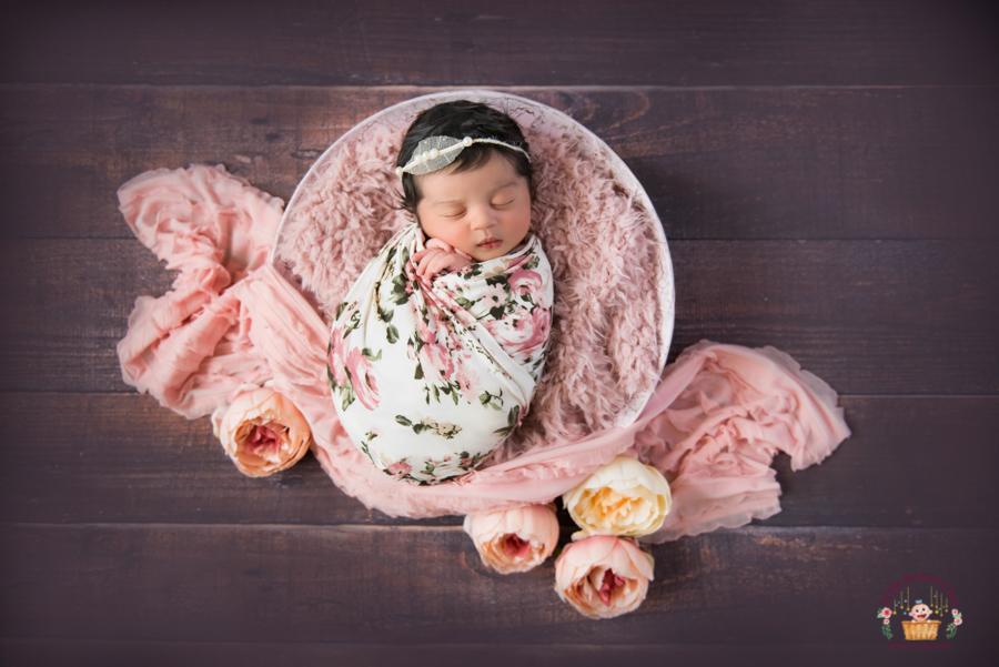 Newborn baby photoshoot in Bangalore