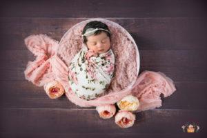 Newborn baby photography in Bangalore – Chaitra's munchkin